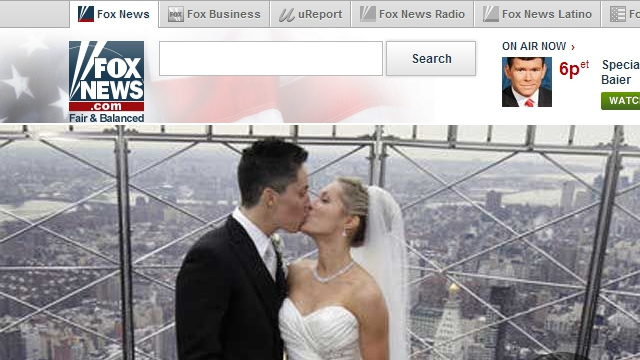 gay couple fox news empire state building